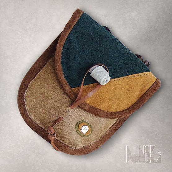 ocher-green-purse